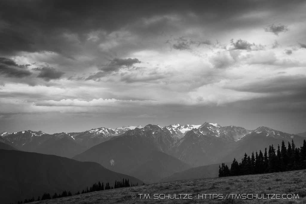 Storm On Hurricane Ridge