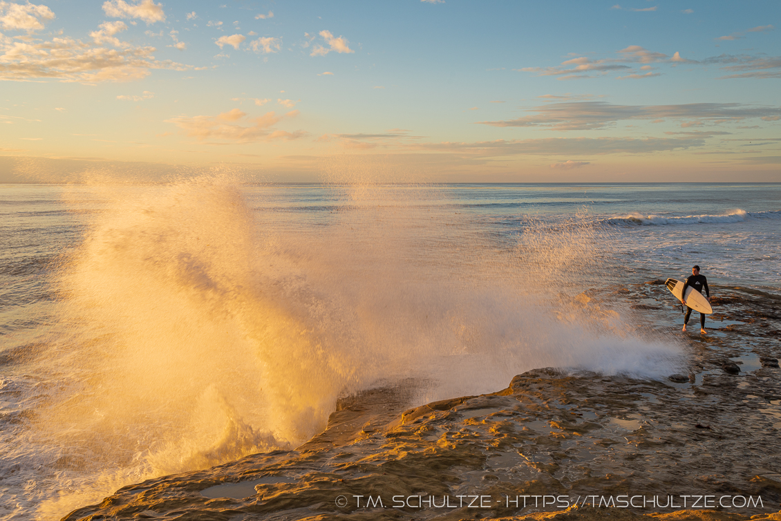 Thanksgiving Surf by T.M. Tracy Schultze