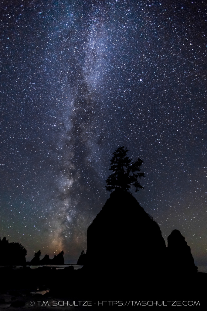 Point of Arches and Milky Way