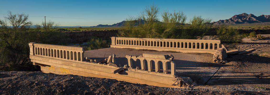 Forgotten Bridge by T.M. Schultze