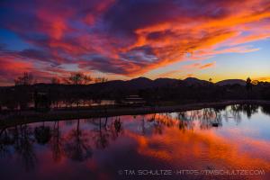 January 29 from Santee Lakes