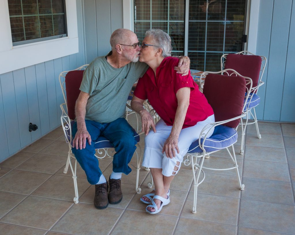 February 2016, still in love after nearly 59 years of marriage