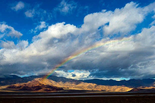 Badwater Rainbow by T.M. Schultze