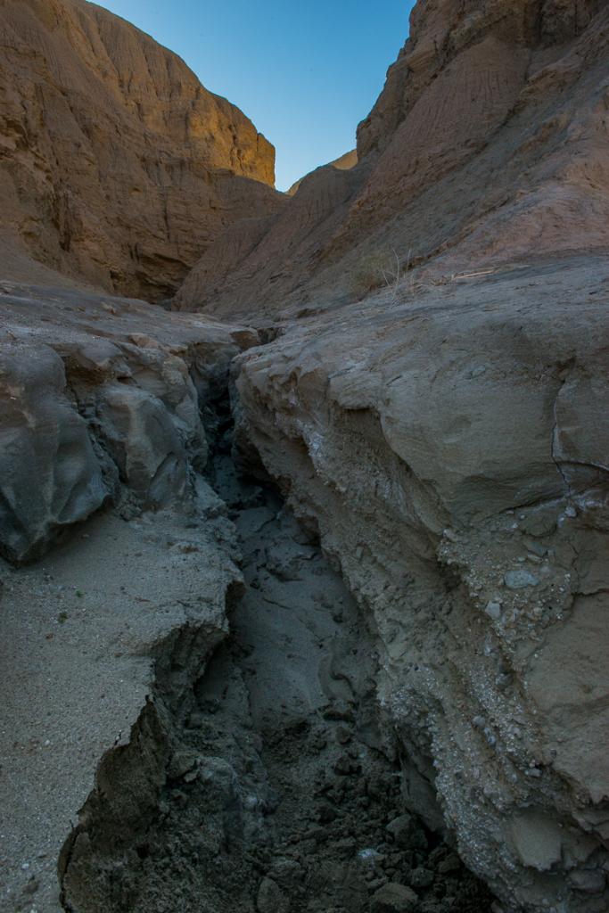 Fragile Mud Canyons