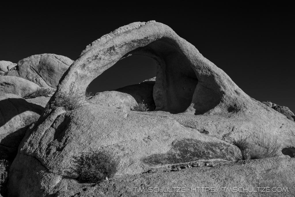 Coxcomb Arch, Black and White JT