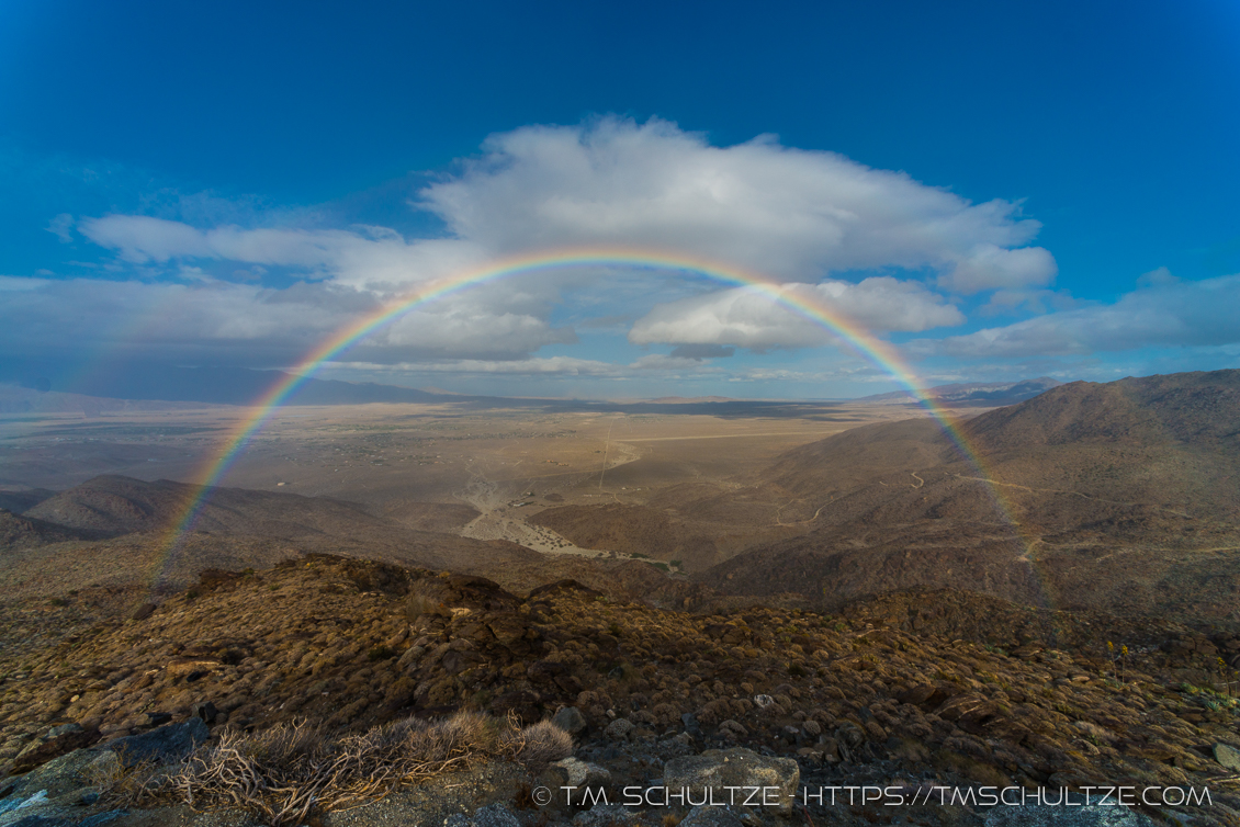 Rainbow Over Borrego Springs