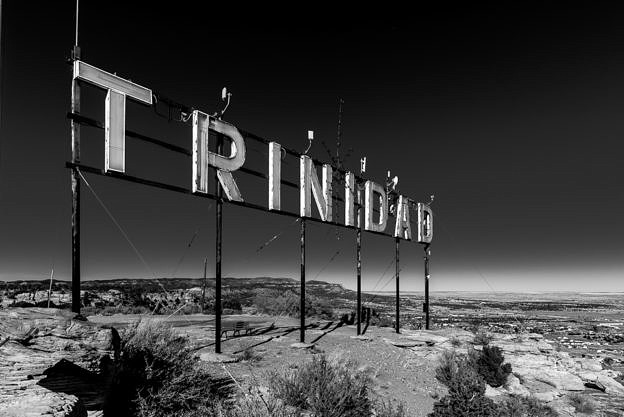 Trinidad Sign From Simpson's Rest