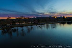 Santee Lakes Overlook December 20