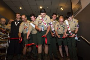 Ribbon Cutting to open the 2015 NOAC GEO Museum