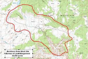 Buckhorn Draw Coverage Map
