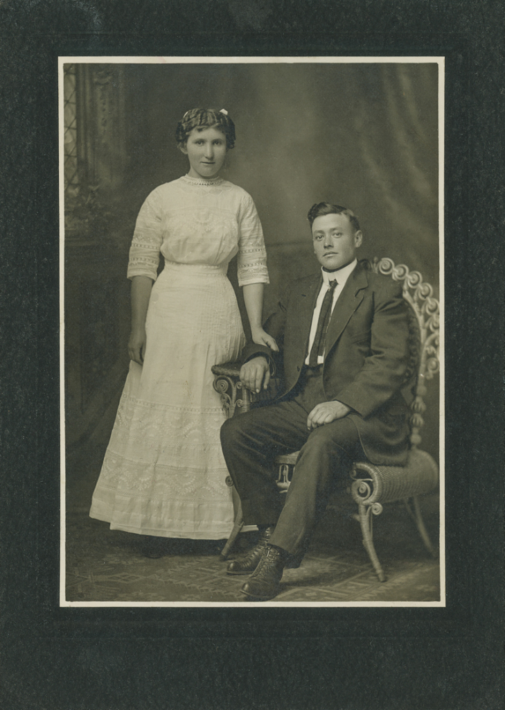 Elizabeth Hagen and Eddie Davidson